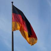 Tysk flagg — Stockfoto