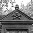 Stock Photo: Gothic tomb