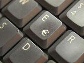 Bilgisayar klavye — Stok fotoğraf