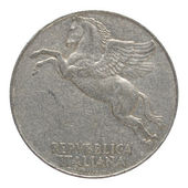 意大利硬币 — 图库照片