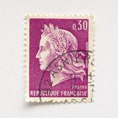 Sello francés — Foto de Stock