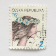 Czech stamps - Stock Photo