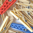 Pegs picture — Stock Photo #7396799
