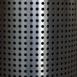 Stainless steel grid mesh - Stock Photo