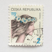 Czech stamps — Stock fotografie