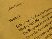 William Shakespeare Hamlet — Stockfoto