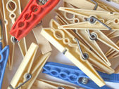 Pegs picture — Stock Photo