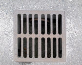 Manhole picture — Stockfoto
