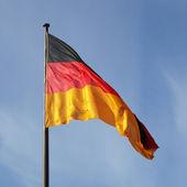 Alman bayrağı — Stok fotoğraf