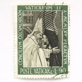 Vatican Stamp — Foto Stock