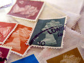 Stamps — Stock Photo