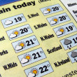 Weather forecast — Stock Photo #7410049