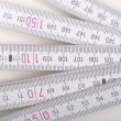 Carpenter ruler — Stockfoto #7410363