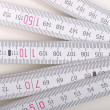 Carpenter ruler — Stock Photo