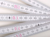 Carpenter ruler — Foto Stock