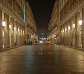 Via Roma, Turin — Stockfoto