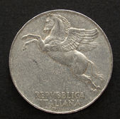 Italian coin — Stock Photo
