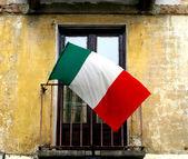 Italian flag — Foto de Stock
