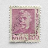 Brasil stamp — Stock Photo