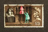Shakespeare Festival Stamp — Stock Photo