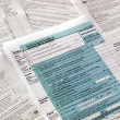 Tax forms — Stock Photo #7446129