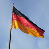 German flag — Stockfoto