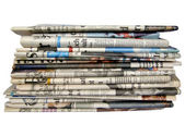 Newspapers picture — Stockfoto