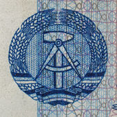 DDR banknote — Stock Photo