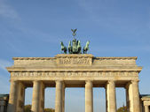Brandenburger tor, berlin — Stockfoto