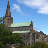 Glasgow cathedral — Foto Stock