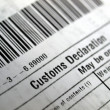 Customs declaration — Foto Stock #7496496