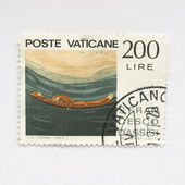Vatican Stamp — Photo