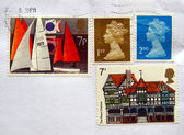 UK stamps — Stock Photo