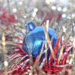 Christmas bauble and tinsel — Stock Photo #7505562
