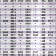 Timetable — Stock Photo #7505784
