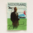 Netherlands stamp — Stock Photo #7506273