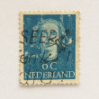 Netherlands stamp — Stock Photo