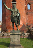 Cezar August statua — Zdjęcie stockowe