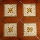 Floral tiles — Stock Photo