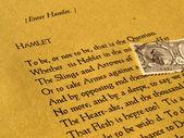 Amleto di william shakespeare — Foto Stock