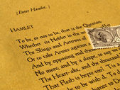 William shakespeare'in hamlet — Stok fotoğraf