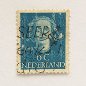 Nederland stempel — Stockfoto