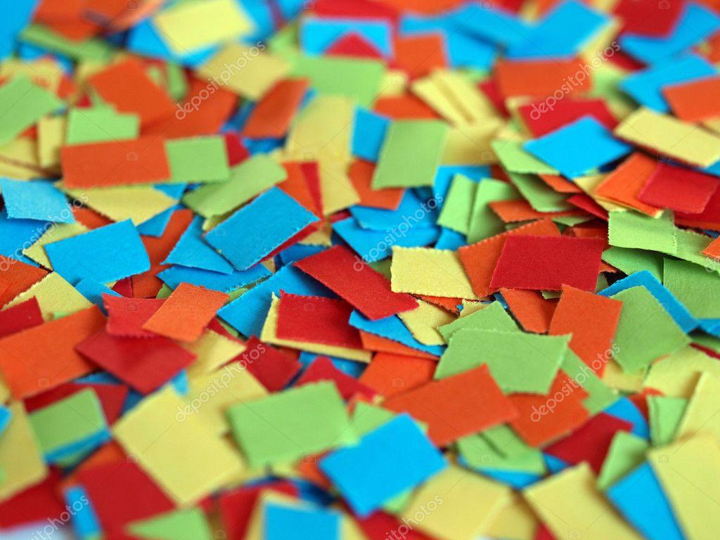 五彩��f�x�_许多彩色嘉年华五彩纸屑有用作为背景– 图库图片