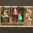 Shakespeare Festival Stamp — Stock Photo