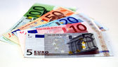 Billete de euros — Foto de Stock
