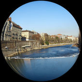 River Po, Turin — Stock Photo