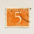 Netherlands stamp — Stock Photo #7538076