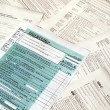 Foto de Stock  : Tax forms
