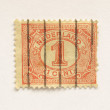 Netherlands stamp — Stock Photo #7538279