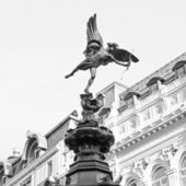 Piccadilly circus, londyn — Zdjęcie stockowe